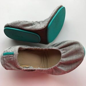 Tieks shoes silver lake size 10 EUC vegan
